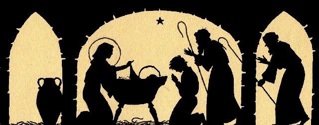 silhouette-nativity